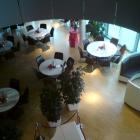 Foto zu Viba Nougat Welt: Das Restaurant von oben gesehen.