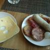 Frühstück - endlich was zu beißen ;-)
