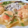 Thai-Curry mit Shrimps