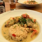 Foto zu Aalkate Lemkenhafen: Fisch-Curry