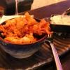 Crispy Squid & Wasabi mit Joghurtdip