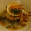 offene Muschel-Lasagne