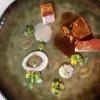 Milchferkel ³ / Junge Bohnen / Sauerkraut / Limonen-Rettich