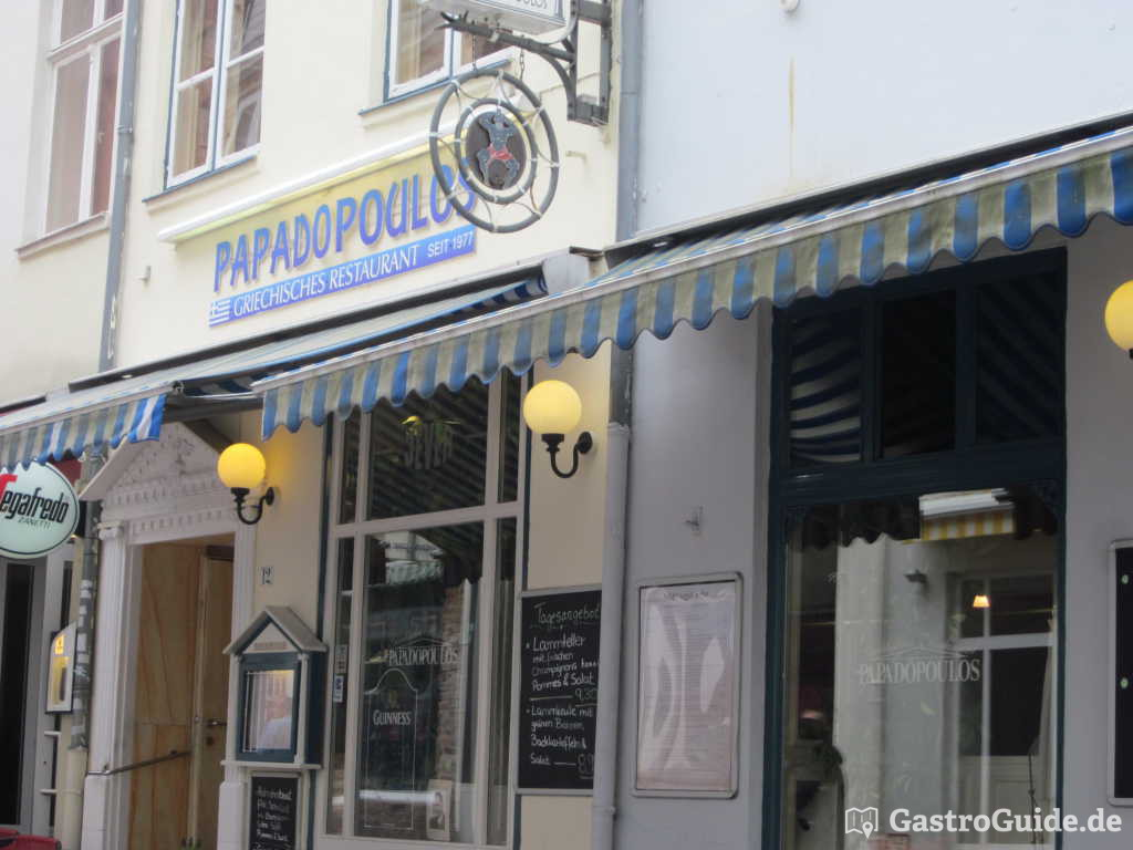 papadopoulos restaurant in 23552 l beck. Black Bedroom Furniture Sets. Home Design Ideas