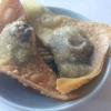 Blutwurst Wan Tan mit Alge