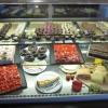 Snacks, Kuchen und Pralinen