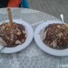 Spaghetti Eis Nutella