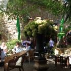 Foto zu Café Solo: Innenhof 1