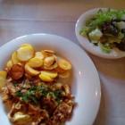 Foto zu Gasthaus am Ödenturm: Pfifferlings Omelett mit Salat