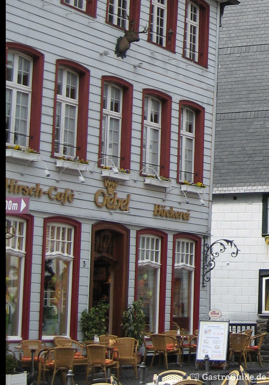 Hirsch Café Oebel Cafe In 52156 Monschau