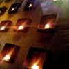 Die Kerzenwand