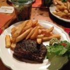 Foto zu Bistro Tebecks: Das sehr zu empfehlende Steak