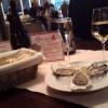3 Austern mit einem Glas Winzersekt zu 7,50€