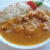 Chicken Korma: Hähnchenbrustfilet in Sahne-Kokos-Sauce