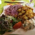 Foto zu Arnolds Bauernhof-Café: 11.3.18 / Sülze mit Bratkartoffeln