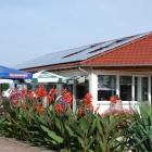 Foto zu Kirschencafe: gemütliche Terrasse