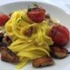 Italien & Rumänien Pasta   Cherrytomaten   Steinpilze   Thymian