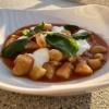 Kartoffel-Gnocchi von der Stommelner Laura / Tomate / Basilikum / Büffel-Mozzarella