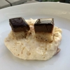 Eingemachte Schrebergarten-Mirabellen Zwo19 Mascarpone / Bitterschokolade 58 %