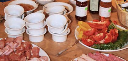 Fotoalbum: Frühstück