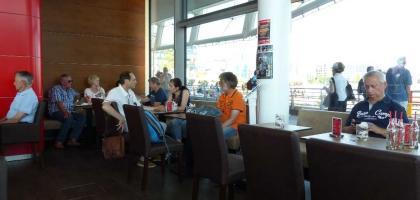 Bild von Langnese Café Happiness Station im Unileverhaus