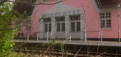 Bild von Worpsweder Bahnhof