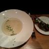 die Sellerie-Suppe