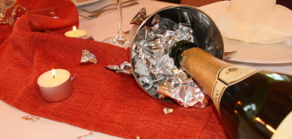 Fotoalbum: Tischdeko
