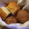 frisches selbsgebackenes Brot