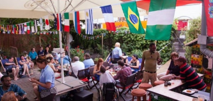 Fotoalbum: Garten Eröffnungsfeier