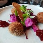 Foto zu Restaurant Alto im Atlantic Grand Hotel: Gezupftes Entenfleisch gebacken
