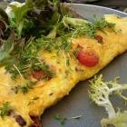 Foto zu Restaurant Alto im Atlantic Grand Hotel: Pfifferlings-Omelette mit Tomaten