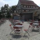 Foto zu Burg Cafe Scharfenstein: herrlich... bei schönem Wetter