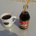 Foto zu Burg Cafe Scharfenstein: 9 Springer... Regionale Cola ;-)