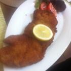 Foto zu Lopshof Café / Restaurant: Wiener Schnitzel zum Spargel