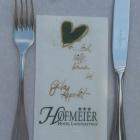 Foto zu Landgasthof Hofmeier: Hofmeiers Serviette