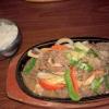 heiße Platte mit Rindfleisch (13,90€)