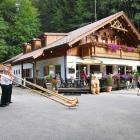 Foto zu Waldwirtschaft am Mittersee: Alphornbläser