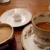 Espresso mit Mirabellenpraline