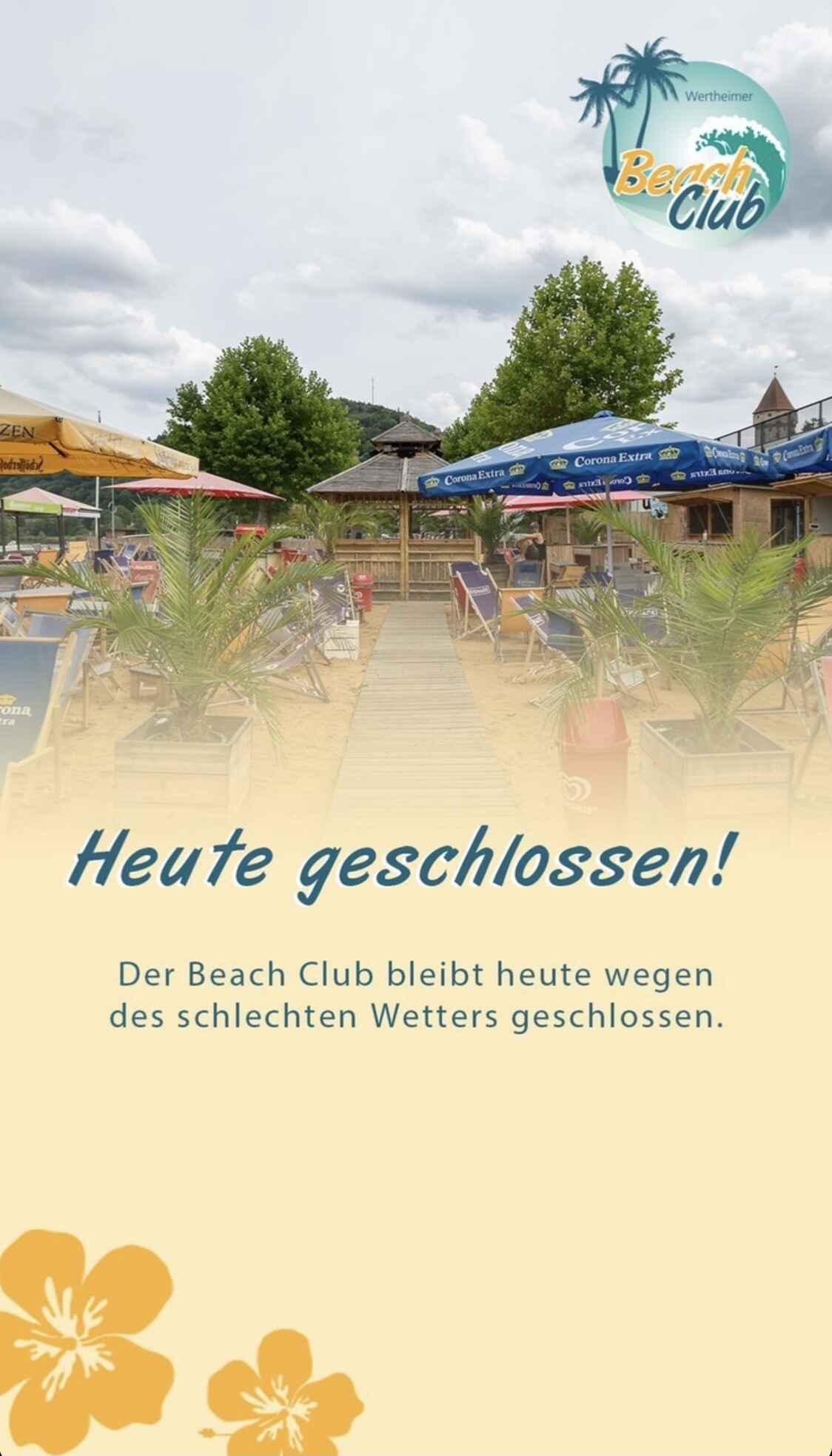 Bild zur Nachricht von Wertheimer Beach Club