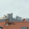 Blick aufs Hambacher Schloss durchs leider digitale Teleskop