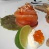 Marinierter Lachs mit Sesam