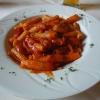 Rigatoni Napoli mit Paprika und Zwiebeln