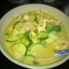 grünes Curry (Huhn)