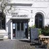Eingang und Außenbereich