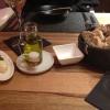 Vorab: Brot, Butter, Olivenöl, Salz