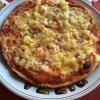 Pizza Hawaii, gekochter Schinken und Ananas (6,00€