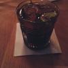 Longdrink mit Rum und Cola