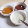 Dips:  Minze, Koriander, Joghurt