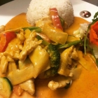 Foto zu Duck & Curry: Chicken Thai Red Curry